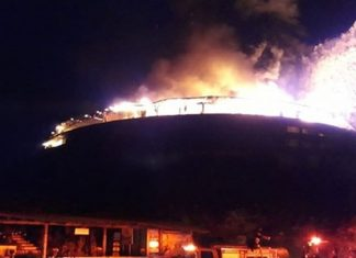 Se incendia Hotel en Valle de Bravo