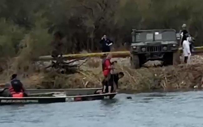 Cuatro militares ahogados en el canal Anzaldúas de Reynosa