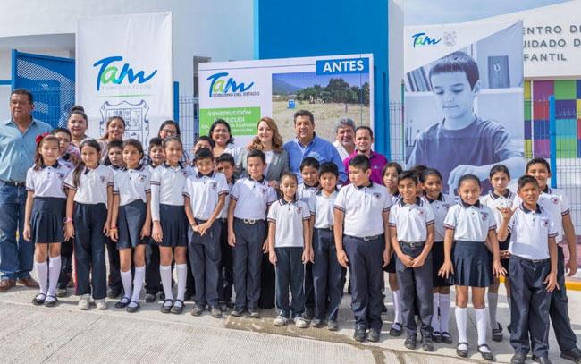 Niñez es prioridad para el gobierno de Tamaulipas
