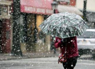 Nuevo frente frío traerá fuertes lluvias