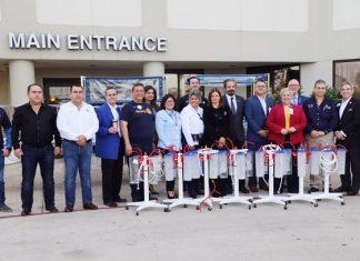 Recibe DIF Tamaulipas donativo de 1.2 millones de dólares en equipo médico