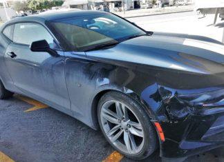 Aseguran en Reynosa un Camaro robado