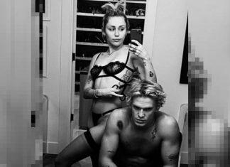 Atrevidas fotos de Miley y Cody