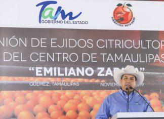 Instalarán cámaras de videovigilancia y bases seguras para región citrícola