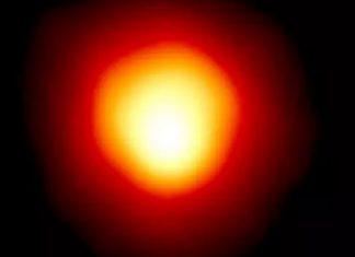 La estrella Betelgeuse está recuperando el brillo