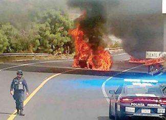 """Uruapan arde por captura de 'El Vocho"""""""