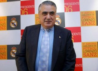 Fallece expresidente del Real Madrid por coronavirus