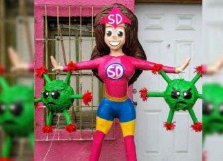 Piñatería Ramírez nuevamente hace de las suyas y crea Susana Distancia