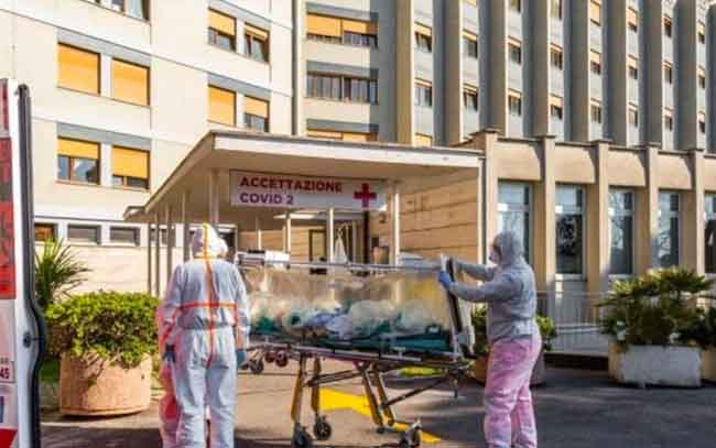 Supera Italia las 8 mil muertes por Coronavirus