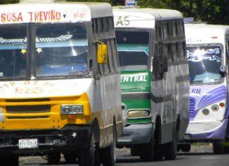 Amenazan microbuseros con paro de labores