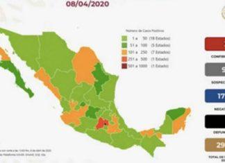 Estiman hay 26,519 casos de COVID-19 en México