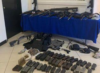 Aseguran armas, droga y blindados en diferentes operativos en Tamaulipas