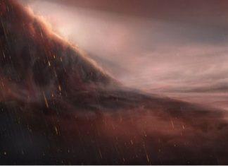 "El exótico e infernal planeta donde ""llueve hierro"""