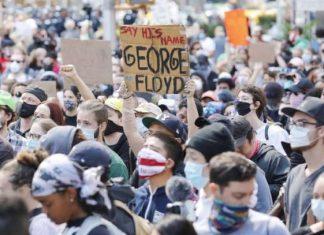 """El """"inevitable"""" riesgo de superpropagación de coronavirus en las protestas"""