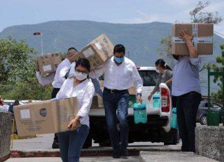 IGCV recorre hospitales de Tamaulipas y entrega insumos médicos