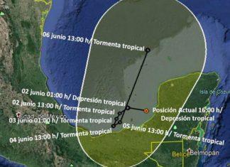 Inició temporada de huracanes