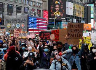 Nueva York amplía toque de queda hasta el domingo por disturbios