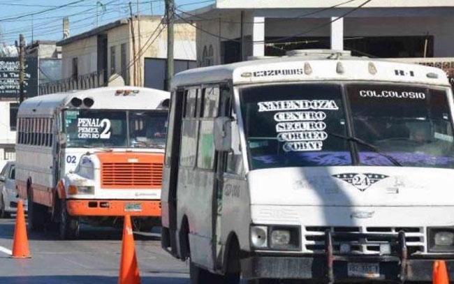 Restringen trasporte público en frontera