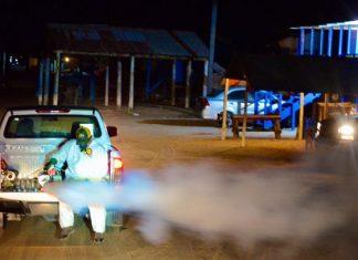Continúa fumigación en Matamoros