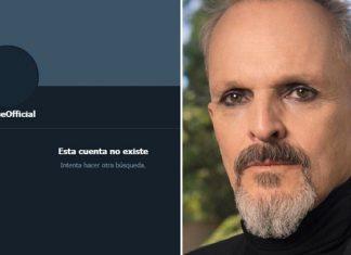 Miguel Bosé desaparece de todas las redes sociales