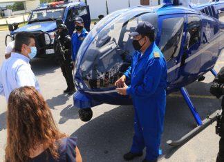 Presentan el grupo de Operaciones Especiales de Seguridad Pública en Tamaulipas