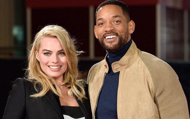 ¿Will Smith le fue infiel a su esposa con Margot Robbie? En redes reviven rumores