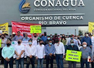 Exigen agricultores de Tamaulipas reparto equitativo de agua