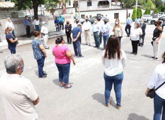 Inauguró Alcaldesa barda perimetral de jardín de niños