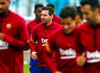 Messi y Coutinho ya entrenan junto a sus compañeros del Barcelona