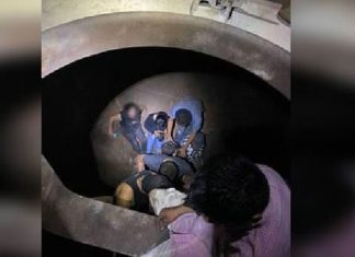 Migrantes fueron rescatados de morir asfixiados en tolva de ferrocarril