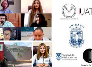Realizan seminario la UAT y Universidad de Ciencias y Artes de Chiapas
