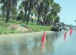 Repara COMAPA fuga de agua, sin servicio parte del sector Granjas