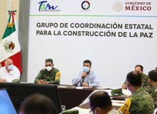 Se reafirma coordinación estatado-federación en materia de seguridad