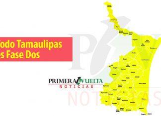 Todos los municipios de Tamaulipas en fase 2