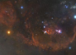 Increíble imagen de la constelación de Orión