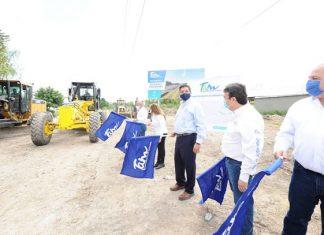 Inicia Gobernador plan de rehabilitación de vialidades en Río Bravo