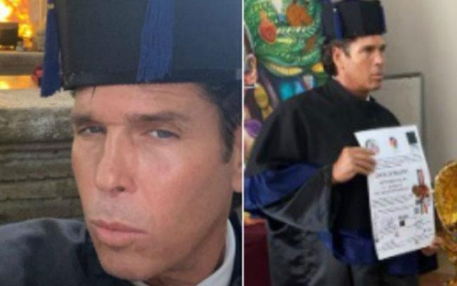 Roberto Palazuelos causa polémica por recibir 'Doctorado Honoris Causa'