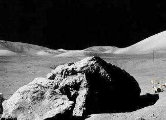 Detectan nuevo mineral de la Luna en meteorito