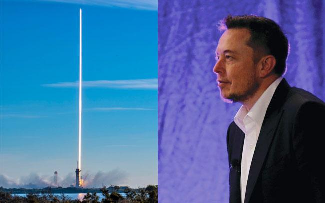 Lanza Elon Musk láseres al espacio