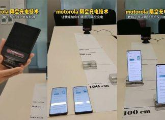 """Motorola también tiene su tecnología de carga """"por el aire"""""""