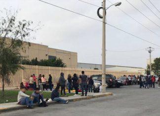 Se realiza paro de labores en maquiladoras de Matamoros