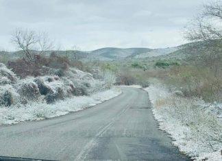 Afecta tormenta invernal frontera del estado
