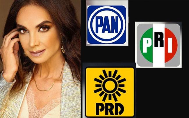 Lupita Jones cuenta si será candidata de BC con PAN, PRI y PRD