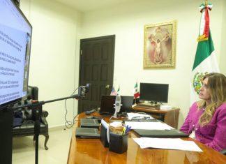 Presidió Alcaldesa Reunión Nacional de Colectivo 50+1MX