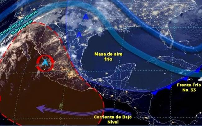Se mantiene ambiente frío en estas zonas de México