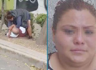 Detienen a mujer que se viralizó por golpear a un anciano en la CDMX