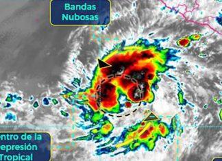 Depresión tropical Dos-E se convertirá en la tormenta Blanca