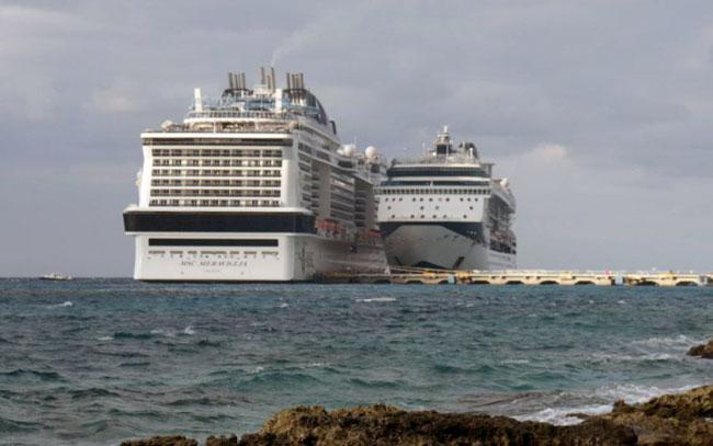 Arriba a Cozumel primer crucero tras año y dos meses de pandemia