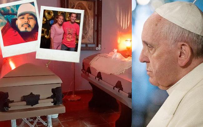 Condena Papa Francisco masacre en Reynosa