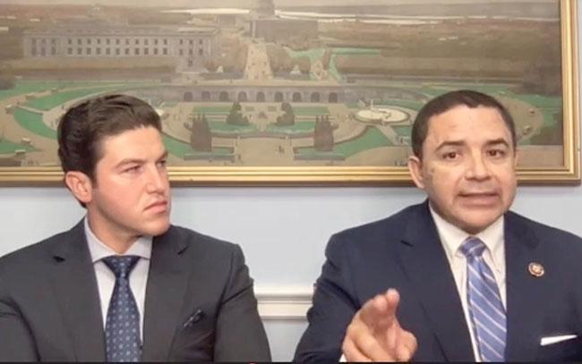 Samuel García declara que hechos de inseguridad son en Tamaulipas